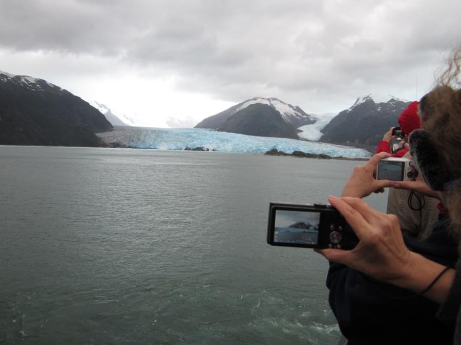 Photo: Amalia Glacier, Chile