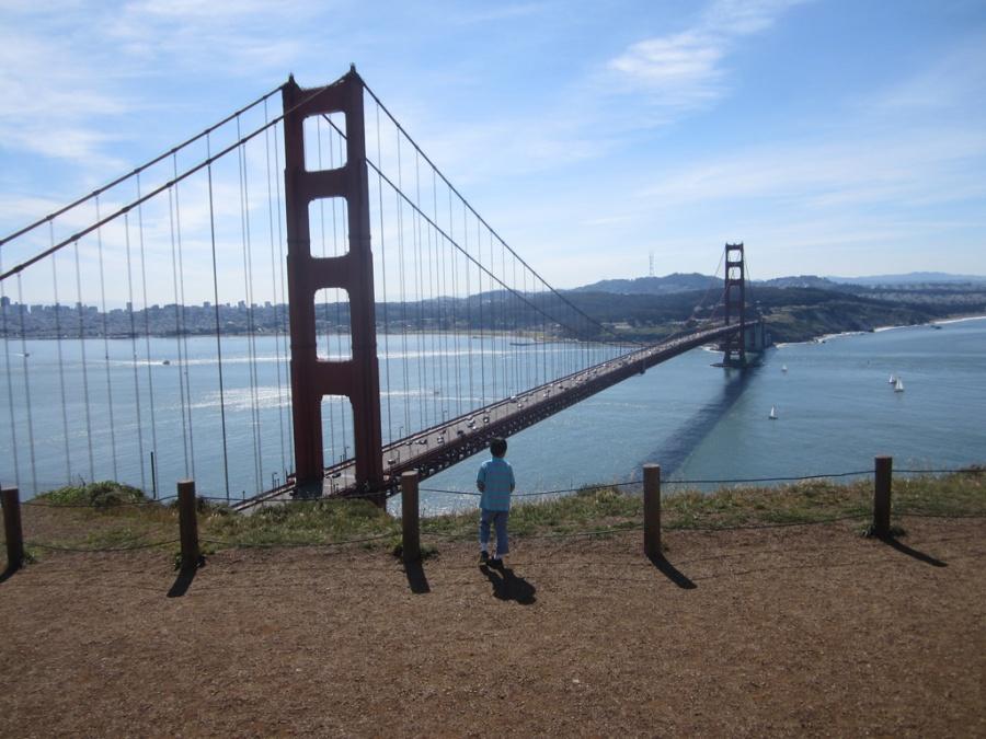 Photo: Golden Gate Bridge, San Francisco